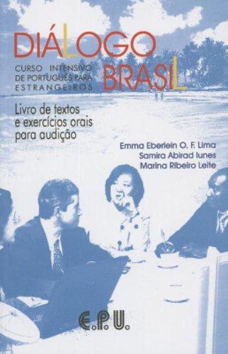9788512542249: Dialogo Brasil: Livro De Texto E Exercicios Orais Para Audicao
