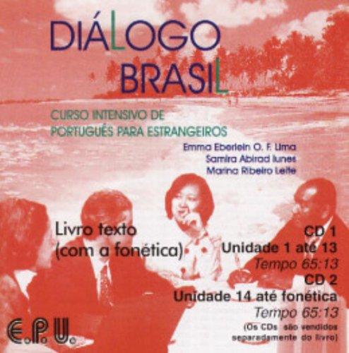 9788512542348: Dialogo Brasil: CD's (2): Curso Intensivo De Portugues Para Estrangeiros