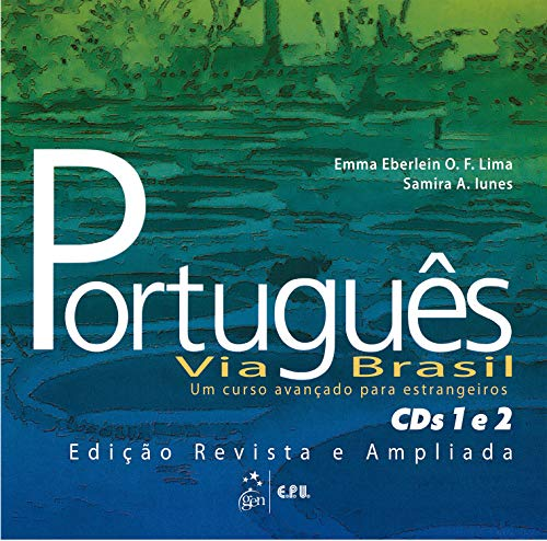 9788512543840: Portugues Via Brasil: CD's 1 and 2