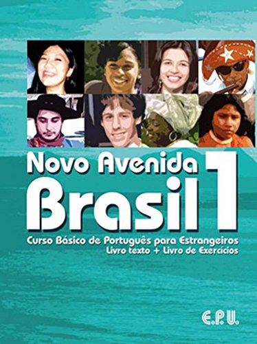 9788512545202: Novo Avenida Brasil 1 : Curso basico de português para estrangeiros (1CD audio): Book/exercise book/CD 1