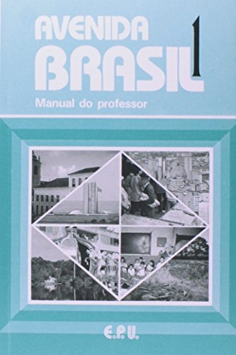 9788512547015: Avenida Brasil 1 Professor (Multilingual Edition)