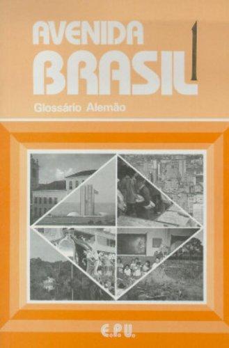 9788512547107: Avenida Brasil. Glossar Portugiesisch - Deutsch.