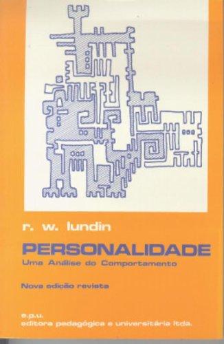 9788512630908: Personalidade. Uma Analise Do Comportamento (Em Portuguese do Brasil)