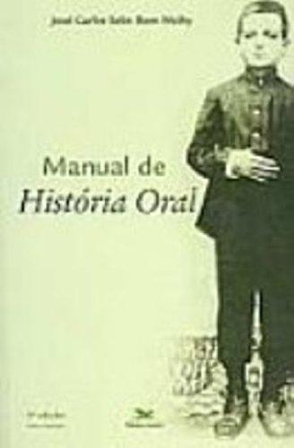 9788515013241: Manual de História Oral