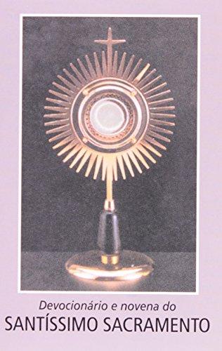 9788515026296: Devocionário E Novena Ao Santíssimo Sacramento (Em Portuguese do Brasil)