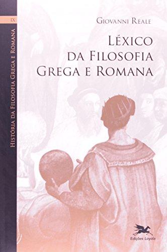 9788515040957: LŽxica da Filosofia Grega e Romana