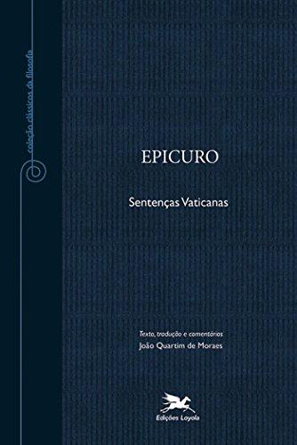 9788515041114: Epicuro. Sentenças Vaticanas - Coleção Clássicos da Filosofia (Em Portuguese do Brasil)