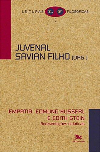 9788515041657: Empatia - Edmund Husserl e Edith Stein: Apresenta›es Did‡ticas - Cole‹o Leituras Filos—ficas