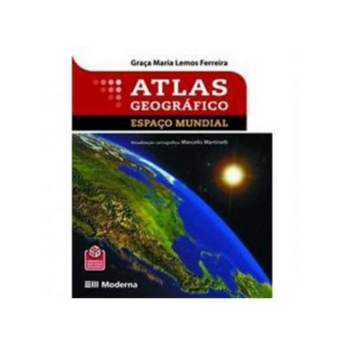 9788516063702: Atlas Geografico - Espaco Mundial (Em Portuguese do Brasil)
