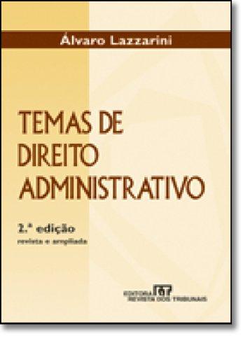 9788520322789: Temas de Direito Administrativo