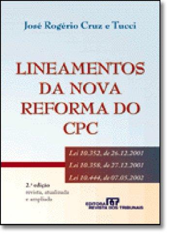 9788520322819: Lineamento da Nova Reforma do CPC