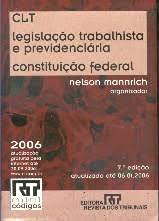 Constituic~ao Federal: Consolidac~ao Das Leis Do Trabalho,: Brazil