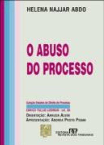 9788520330951: O Abuso do Processo