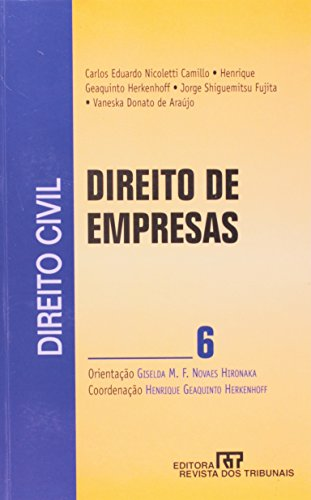 9788520332009: Direito Civil: Direito de Empresas Vol.6
