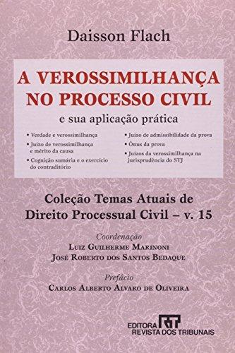9788520334430: Verossimilhanca no Processo Civil, A