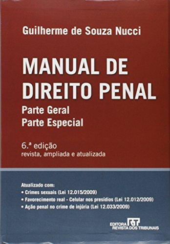 9788520335673: Manual De Direito Penal. Parte Geral. Parte Especial