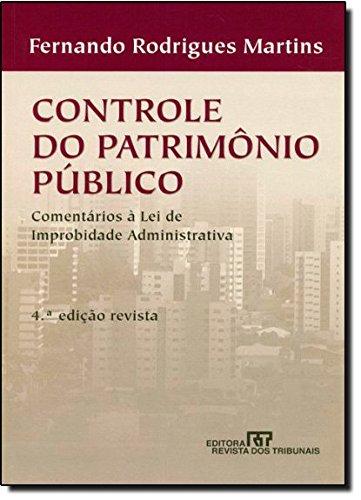 9788520337820: Controle do Patrimônio Público (Em Portuguese do Brasil)