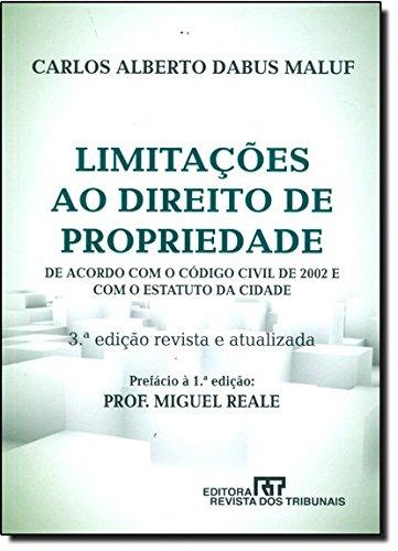 9788520340080: Limitac›es ao Direito de Propriedade