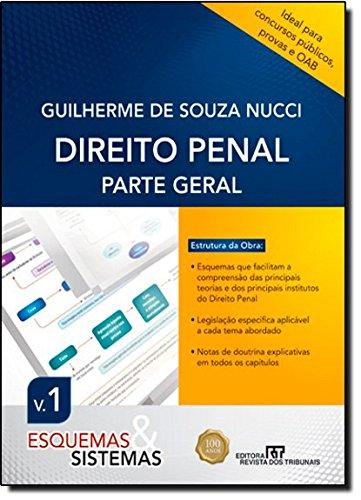 9788520342381: Direito Penal: Parte Geral - Vol. 1 - Colecao Esquemas e Sistemas