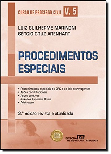 9788520342947: Curso de Processo Civil: Procedimentos Especiais - Vol.5