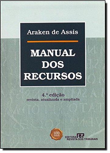 9788520343098: Manual dos Recursos