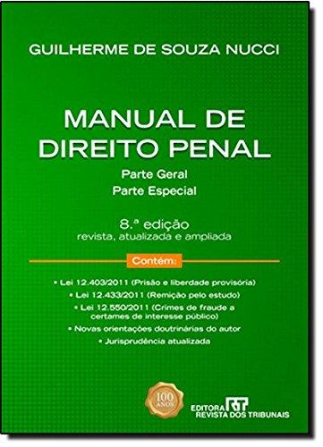 9788520343302: Manual De Direito Penal. Parte Geral - Parte Especial (Em Portuguese do Brasil)