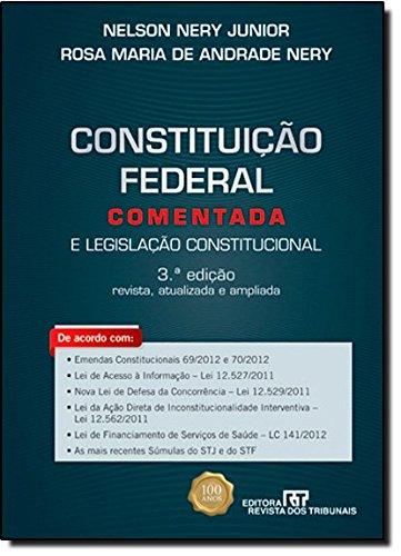 9788520344927: Constituição Federal Comentada (Em Portuguese do Brasil)