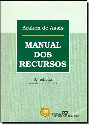 9788520345368: Manual dos Recursos