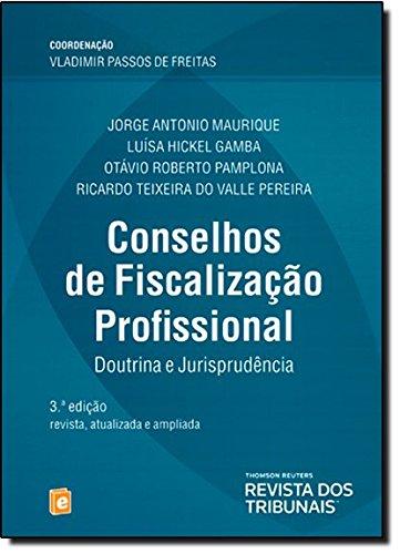 9788520345702: Conselhos de Fiscalizacao Profissional