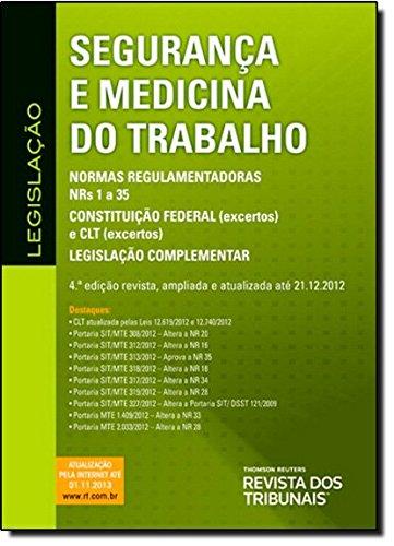 9788520346112: Segurança E Medicina Do Trabalho (Em Portuguese do Brasil)