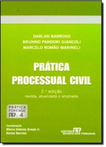 9788520346297: Pratica Processual Civil - Vol.4