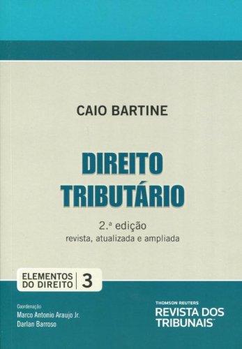 9788520346822: Direito Tributario - Vol.3 - Colecao Elementos do Direito