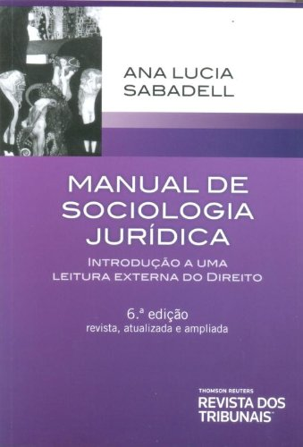 9788520346976: Manual de Sociologia Juridica