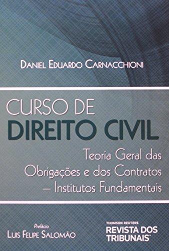 9788520349878: Curso de Direito Civil: Teoria Geral das Obrigacoes dos Contratos - Institutos Fundamentais