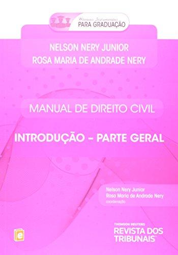 9788520351123: Manual de Direito Civil: Introducao - Parte Geral - 2014