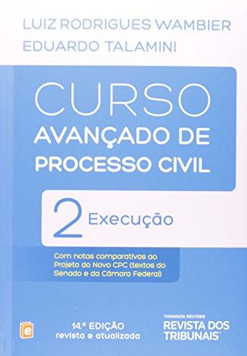 9788520351390: Curso Avançado De Processo Civil. Execução - Volume 2