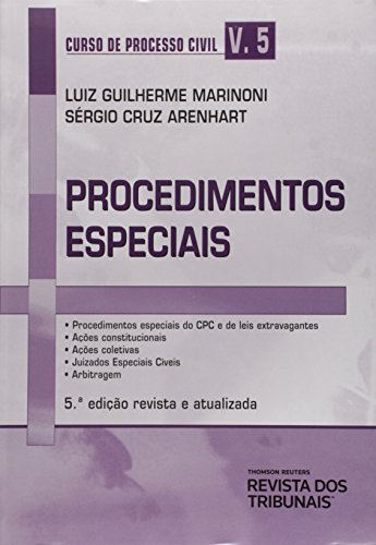 9788520351444: Curso de Processo Civil: Procedimentos Especiais - Vol.5