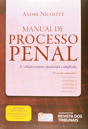 9788520354049: Manual de Processo Penal