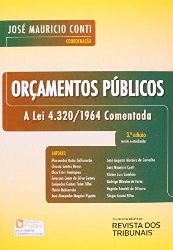 9788520354742: Orcamentos Publicos: A Lei 4.320-1964 Comentada