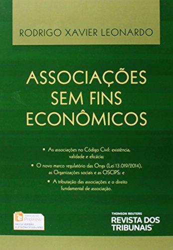 9788520355688: Associacoes Sem Fins Economicos, As