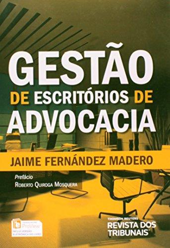 9788520356272: Gestao de Escritorios de Advocacia