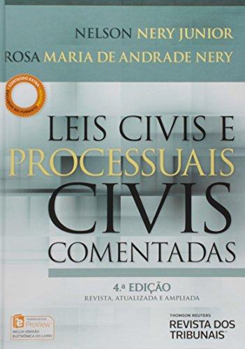 9788520356340: Leis Civis e Processuais Civis Comentadas