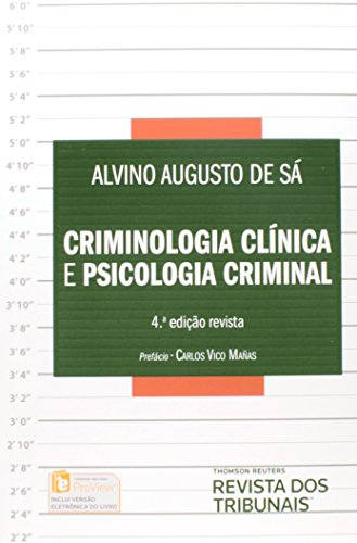 9788520356623: Criminologia Clinica e Psicologia Criminal