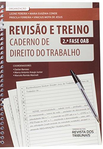 9788520357514: Revisão e Treino 2° Fase OAB. Caderno de Direito do Trabalho (Em Portuguese do Brasil)