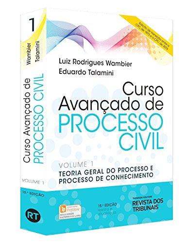 9788520358009: Curso Avançado de Processo Civil. Teoria Geral do Processo e Processo de Conhecimento - Volume 1