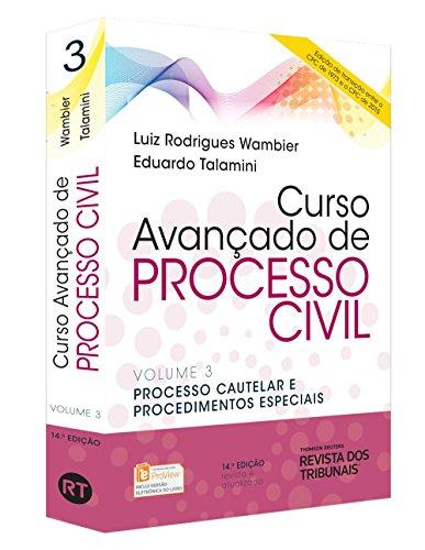 9788520358047: Curso Avançado De Processo Civil. Processo Cautelar E Procedimentos Especiais - Volume 3