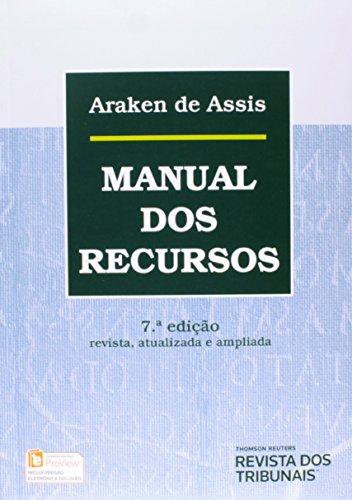 9788520358702: Manual dos Recursos