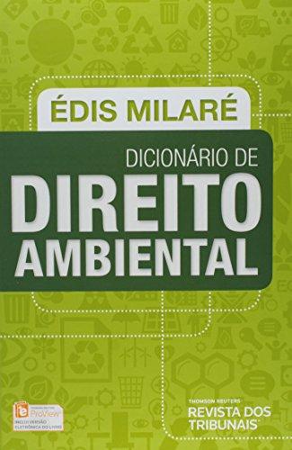 9788520359129: Dicionario de Direito Ambiental