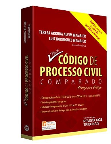 9788520359501: Codigo de Processo Civil Comparado: Artigo Por Artigo