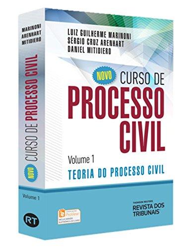 9788520359563: Novo Curso de Processo Civil: Teoria do Processo Civil - Vol.1